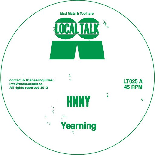 HNNY альбом Yearning EP
