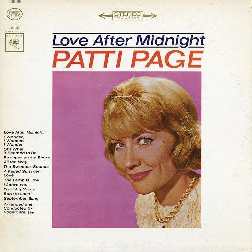 Patti Page альбом Love After Midnight