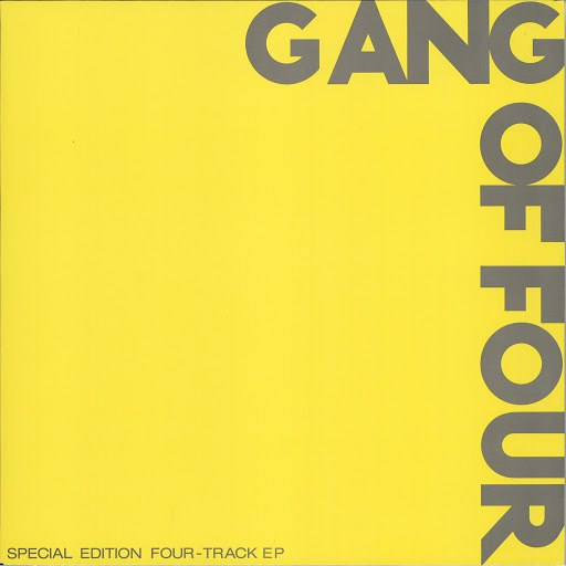 Gang Of Four альбом Gang Of Four (Yellow EP)