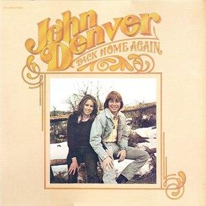 John Denver альбом Back Home Again