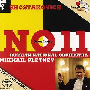 "Mikhail Pletnev альбом SHOSTAKOVICH: Symphony No. 11, ""The Year 1905"""