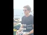 Дэниел на съёмочной площадке сериала «Медичи: Повелители Флоренции» в Риме, Италия | 31.08.17