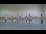 Vaganova Ballet Academy. Classical dance. Girls, 1st class. 2012