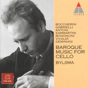 Anner Bylsma альбом Baroque Music for Cello