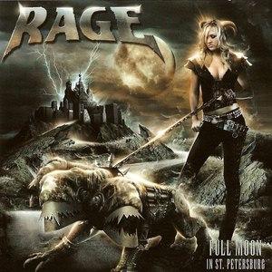 Rage альбом Full Moon In St. Petersburg