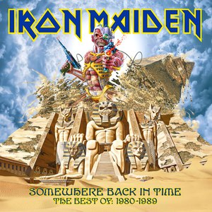 Iron Maiden альбом Somewhere Back In Time: The Best of 1980-1989