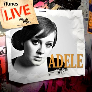 Adele альбом iTunes Live from SoHo