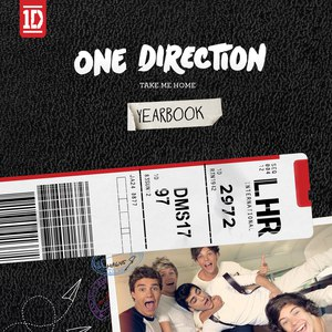 One Direction альбом Take Me Home (Limited Yearbook Edition)
