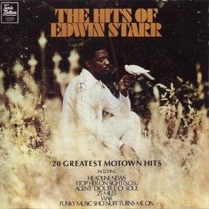 Edwin Starr альбом The Hits Of Edwin Starr