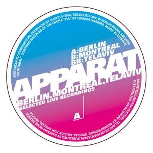 Apparat альбом Berlin, Montreal, Tel Aviv