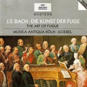 Johann Sebastian Bach альбом Bach: The Art of Fugue