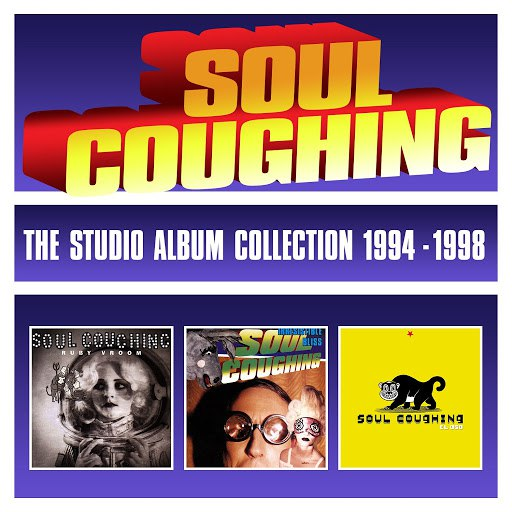 Soul Coughing альбом The Studio Album Collection 1994-1998