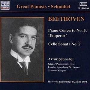 """Ludwig Van Beethoven альбом Piano Concerto No. 5 """"Emperor"""""""