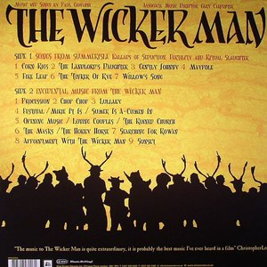 Magnet альбом The Wicker Man - Original Soundtrack Recording