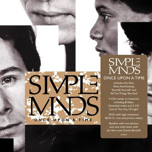 Simple Minds альбом Once Upon A Time (Super Deluxe)