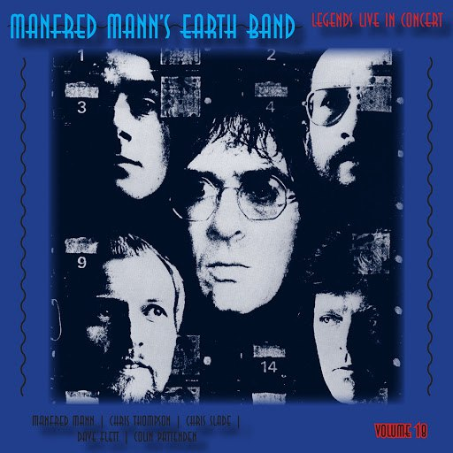 Manfred Mann's Earth Band альбом Legends Live in Concert Vol. 18