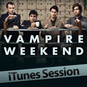 Vampire Weekend альбом iTunes Session