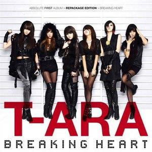 T-ara альбом Breaking Heart