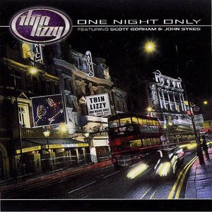 Thin Lizzy альбом One Night Only