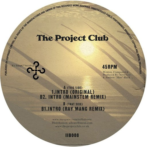 The Project Club альбом The Project Club