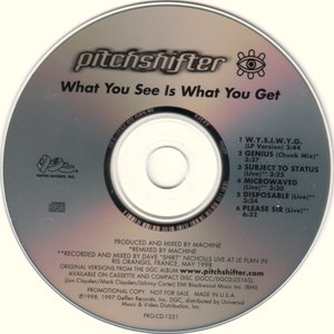 Pitchshifter альбом What You See Is What You Get