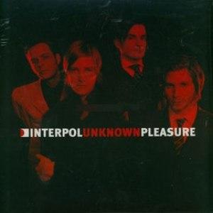 Interpol альбом Unknown Pleasures