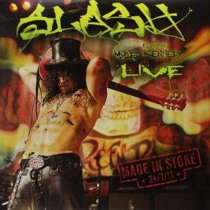 Slash альбом Made In Stoke 24/7/11 (Live)