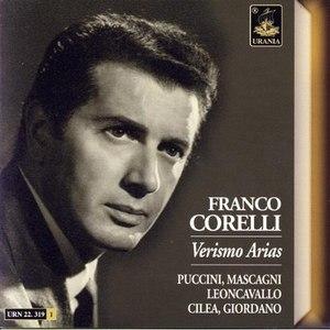 Franco Corelli альбом Verismo Arias: Puccini, Mascagni, Giordano, Cileo, Leoncavallo