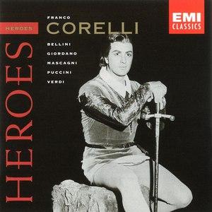 Franco Corelli альбом Opera Heroes