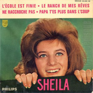 Sheila альбом L'école est finie