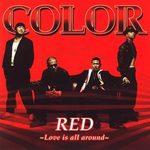 CoLoR альбом RED ~Love is all around~