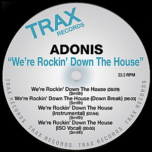 Adonis альбом We're Rocking Down The House