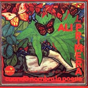 Alí Primera альбом Cuando nombro la poesía