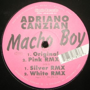 Adriano Canzian альбом Macho Boy