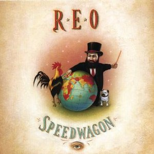 REO Speedwagon альбом The Earth, a Small Man, His Dog and a Chicken