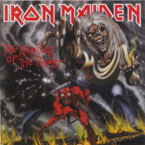 Альбом Iron Maiden The Number of The Beast (1998 Remastered Edition)