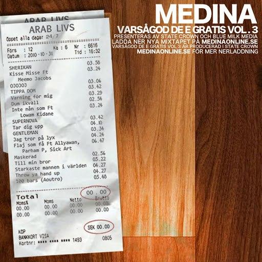 Medina альбом Varsågod de e gratis Vol. 3