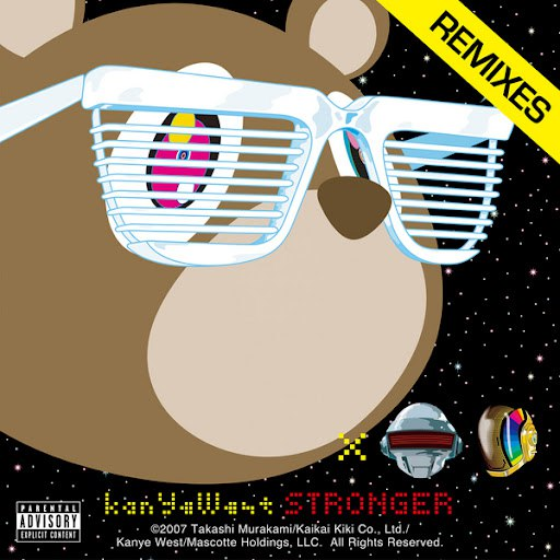 Kanye West album Stronger (Remixes)