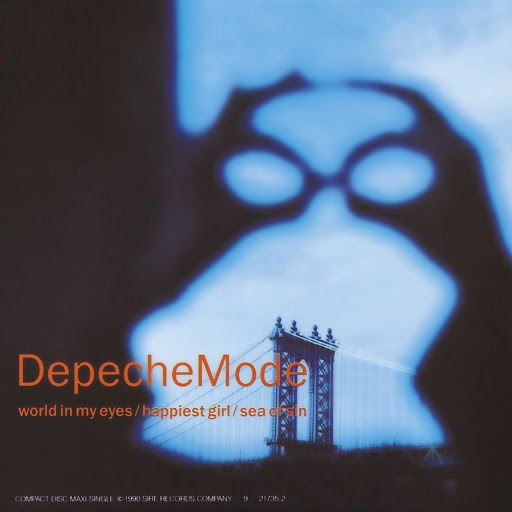 Depeche Mode альбом World In My Eyes (U.S. Maxi Single)
