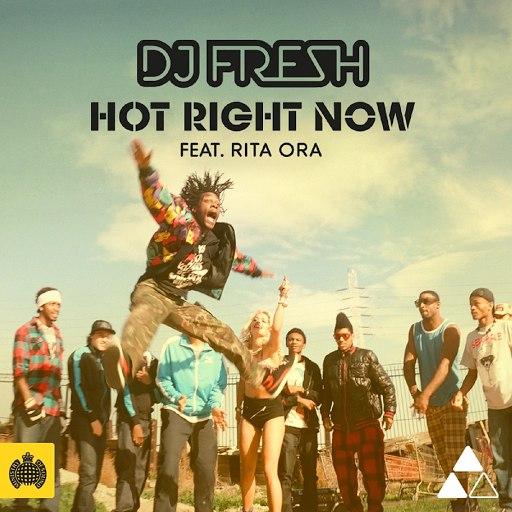 DJ Fresh альбом Hot Right Now feat. Rita Ora [Remixes]