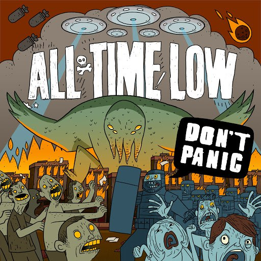All Time Low альбом Don't Panic
