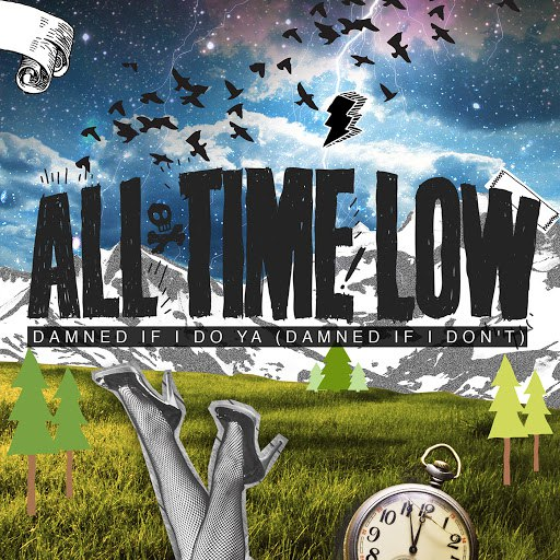 All Time Low альбом Damned If I Do Ya (Damned If I Don't)