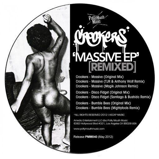 Crookers альбом Massive EP (Remixed)