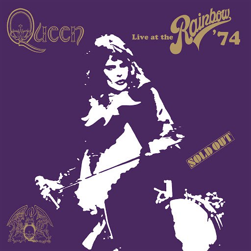 Queen альбом Live At The Rainbow '74
