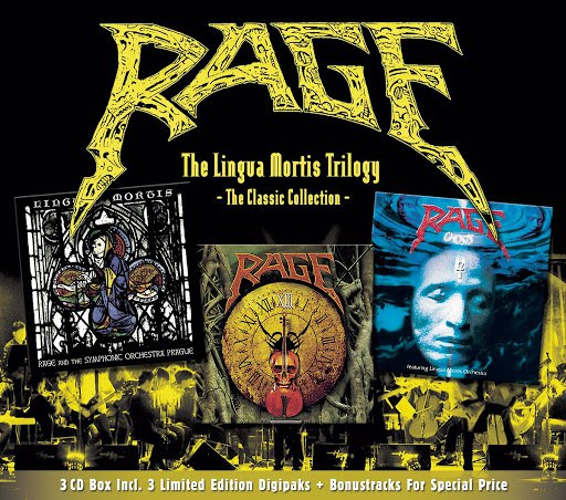 Rage альбом The Lingua Mortis Trilogy (The Classic Collection)