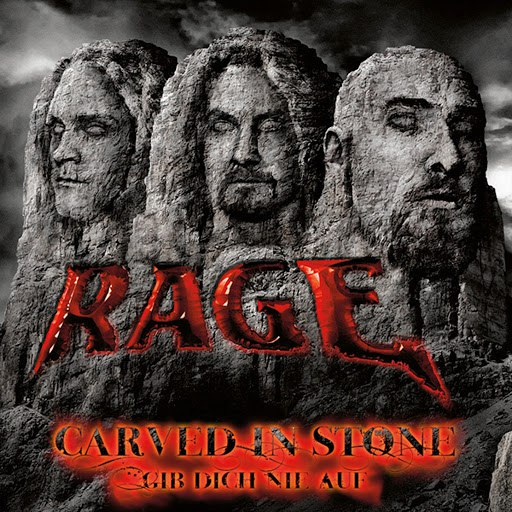 Rage альбом Carved in Stone / Gib Dich Nie Auf