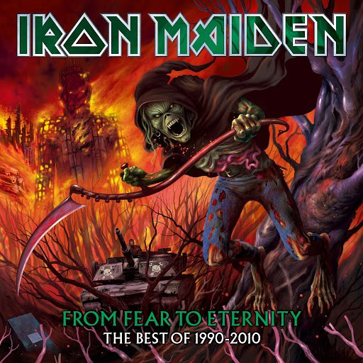 Iron Maiden альбом From Fear To Eternity (The Best Of 1990-2010)