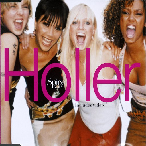 Spice Girls альбом Holler/Let Love Lead The Way