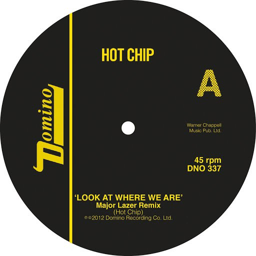 Hot Chip альбом Look At Where We Are (Major Lazer Remixes)