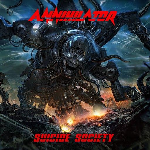 Annihilator альбом Suicide Society (Deluxe Edition)